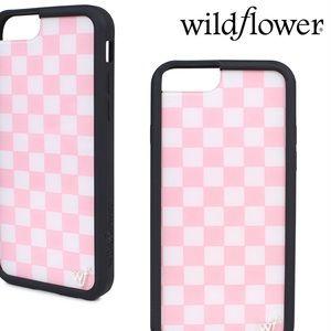 Pink Plaid IPhone 6/7/8 PLUS case!